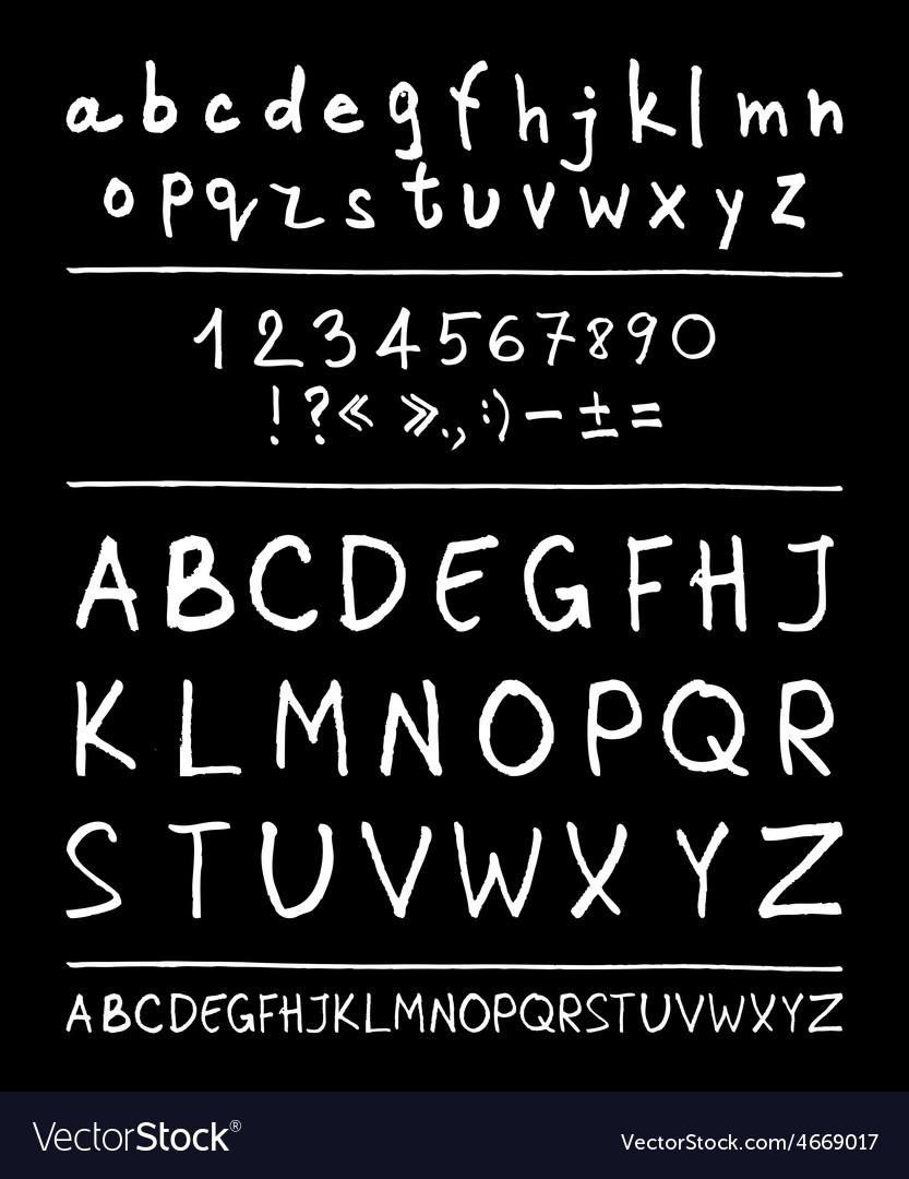 English handwriting alphabet vector   Price: 1 Credit (USD $1)
