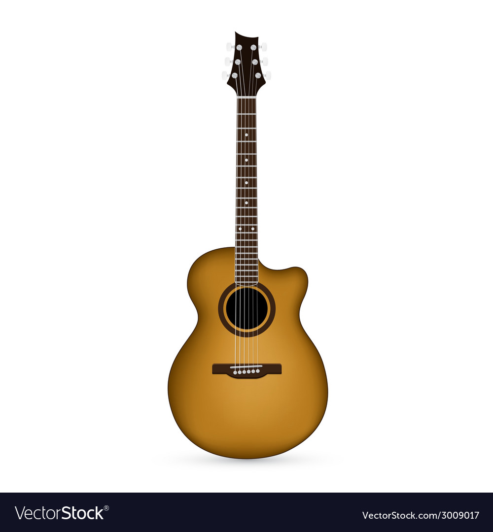 Guitar 7 vector | Price: 1 Credit (USD $1)