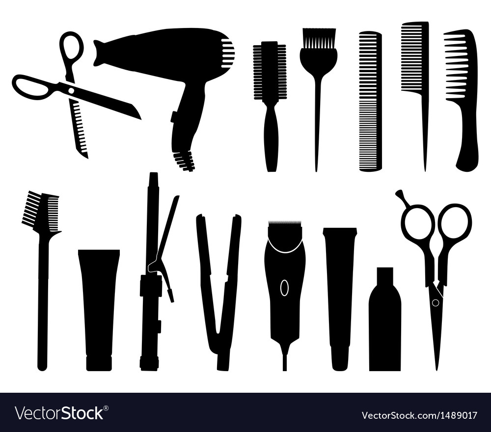 Hairdresser vector | Price: 1 Credit (USD $1)
