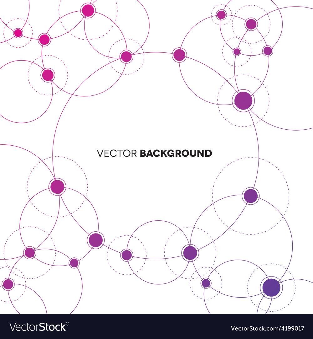Network backgroud vector