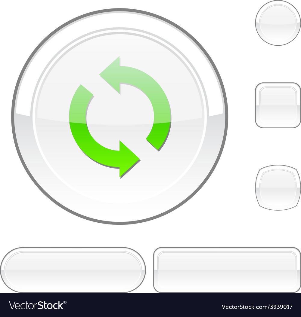 Refresh white button vector   Price: 1 Credit (USD $1)