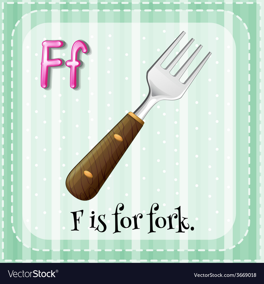 Letter f vector | Price: 3 Credit (USD $3)