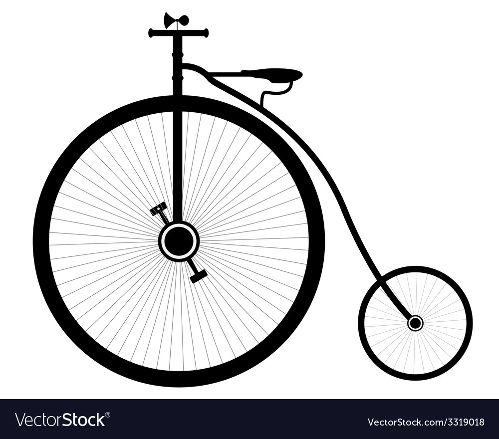 Retro bike vector | Price: 1 Credit (USD $1)