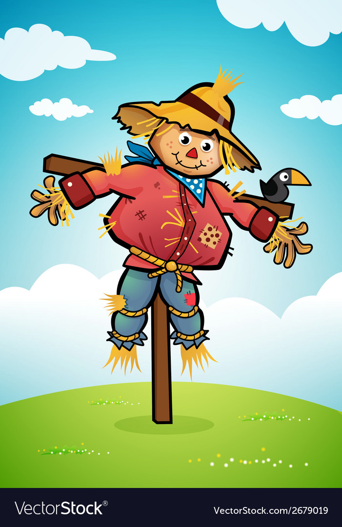 Scarecrow vector | Price: 3 Credit (USD $3)