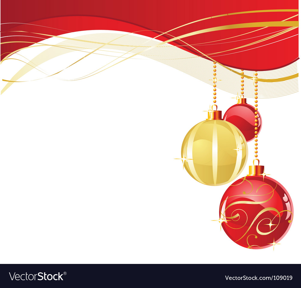 White christmas background vector | Price: 1 Credit (USD $1)