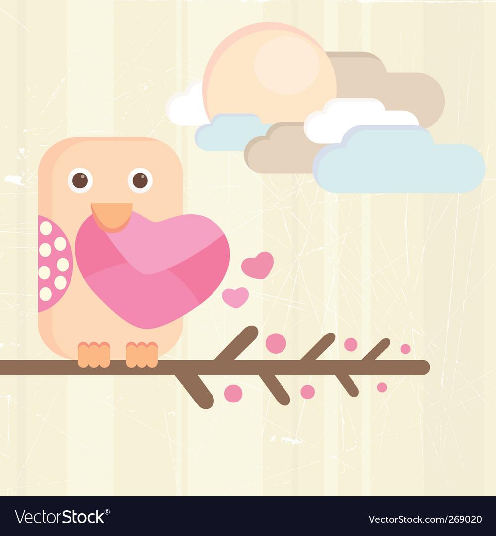 Cute bird vector   Price: 1 Credit (USD $1)