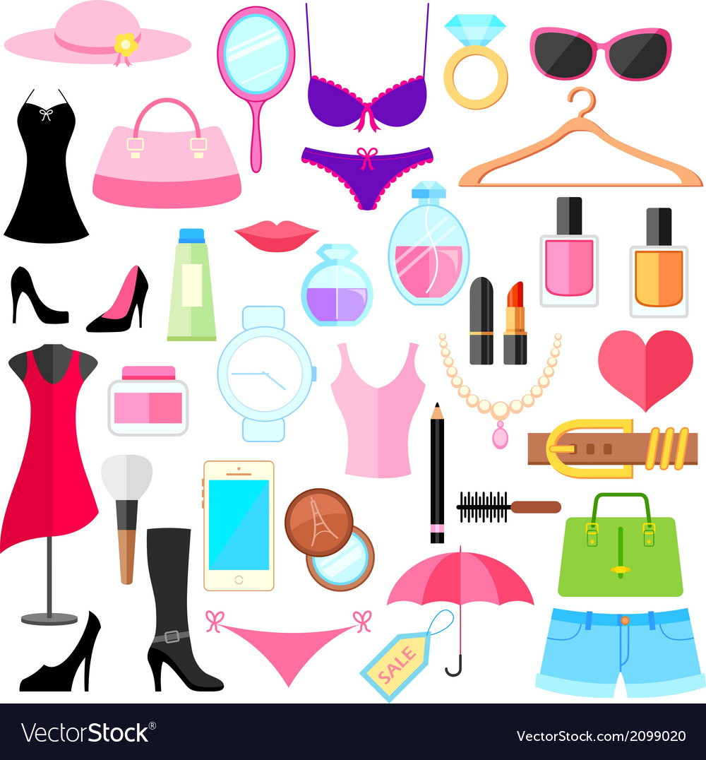 Fashion object vector | Price: 1 Credit (USD $1)