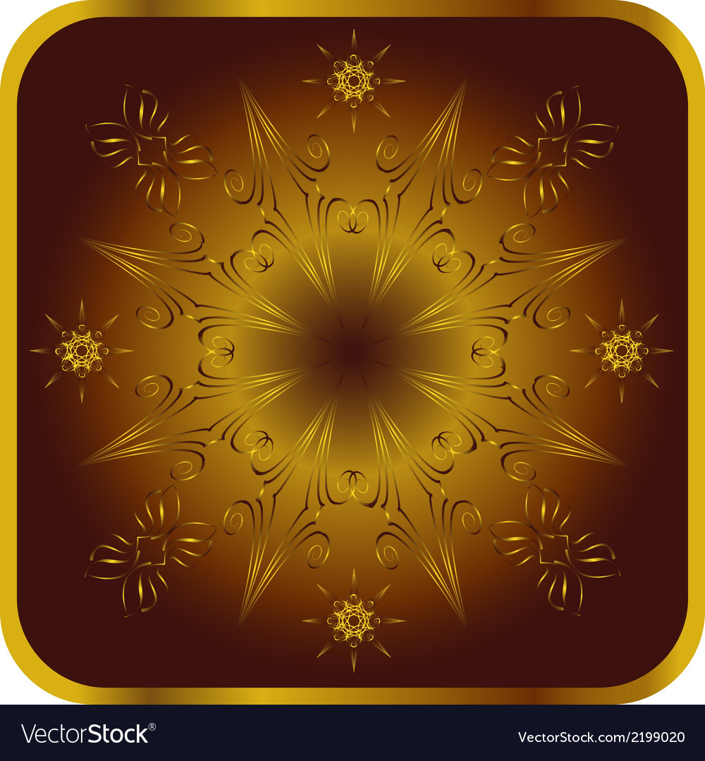 Ornate element for design vector | Price: 1 Credit (USD $1)