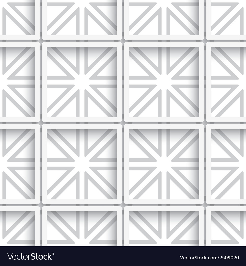 Seamless white layered net background vector | Price: 1 Credit (USD $1)