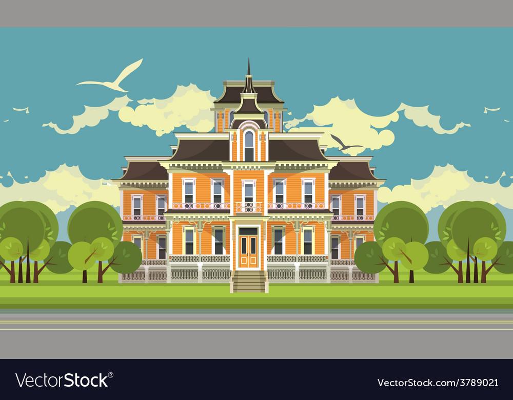 City building vector | Price: 3 Credit (USD $3)
