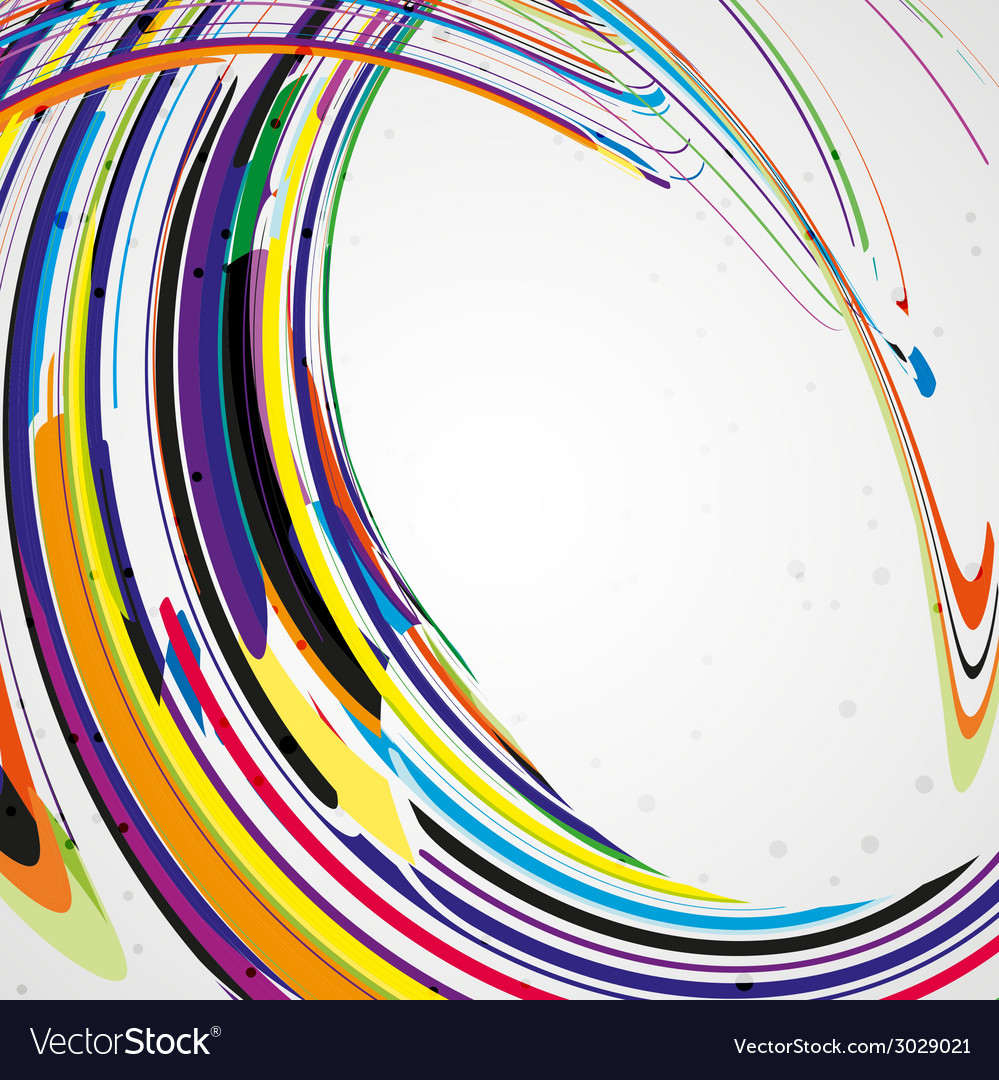 Colorful lines background vector   Price: 1 Credit (USD $1)