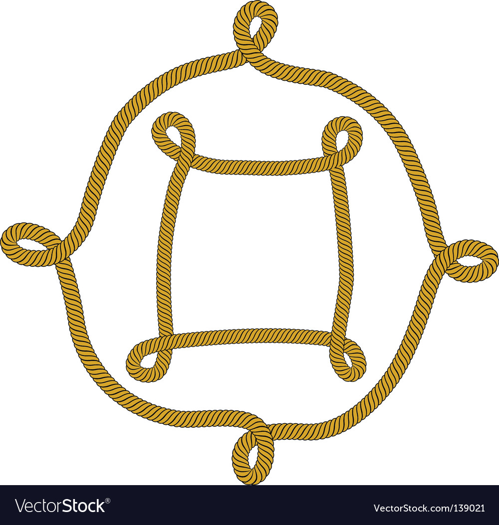 Knot frame vector | Price: 1 Credit (USD $1)