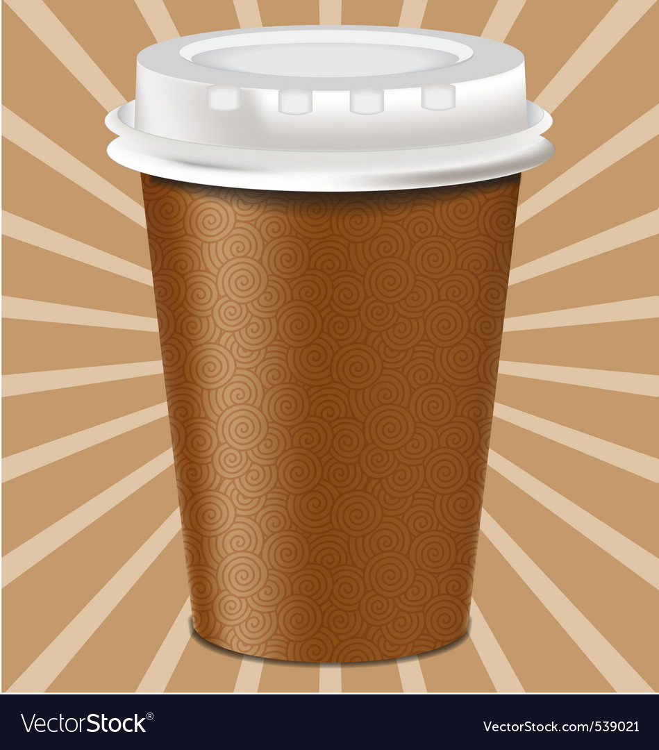 Realistic mug cup vector | Price: 1 Credit (USD $1)