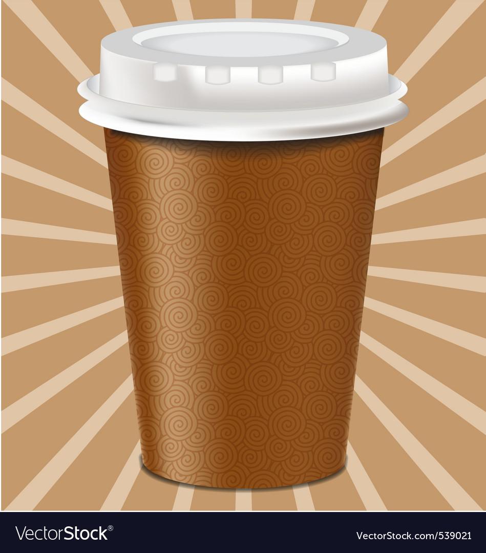 Realistic mug cup vector | Price: 1 Credit (USD $1)