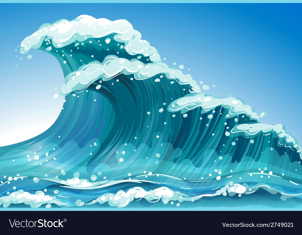 Single wave vector | Price: 1 Credit (USD $1)