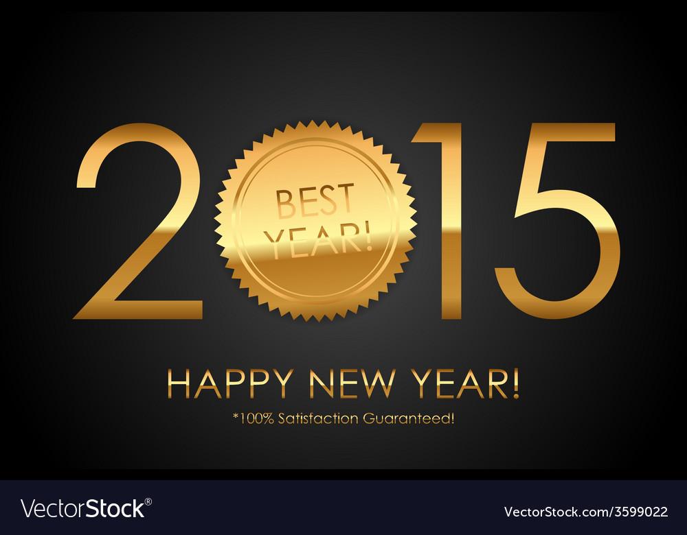 Certificate - 2015 best year 100 satisfaction vector | Price: 1 Credit (USD $1)