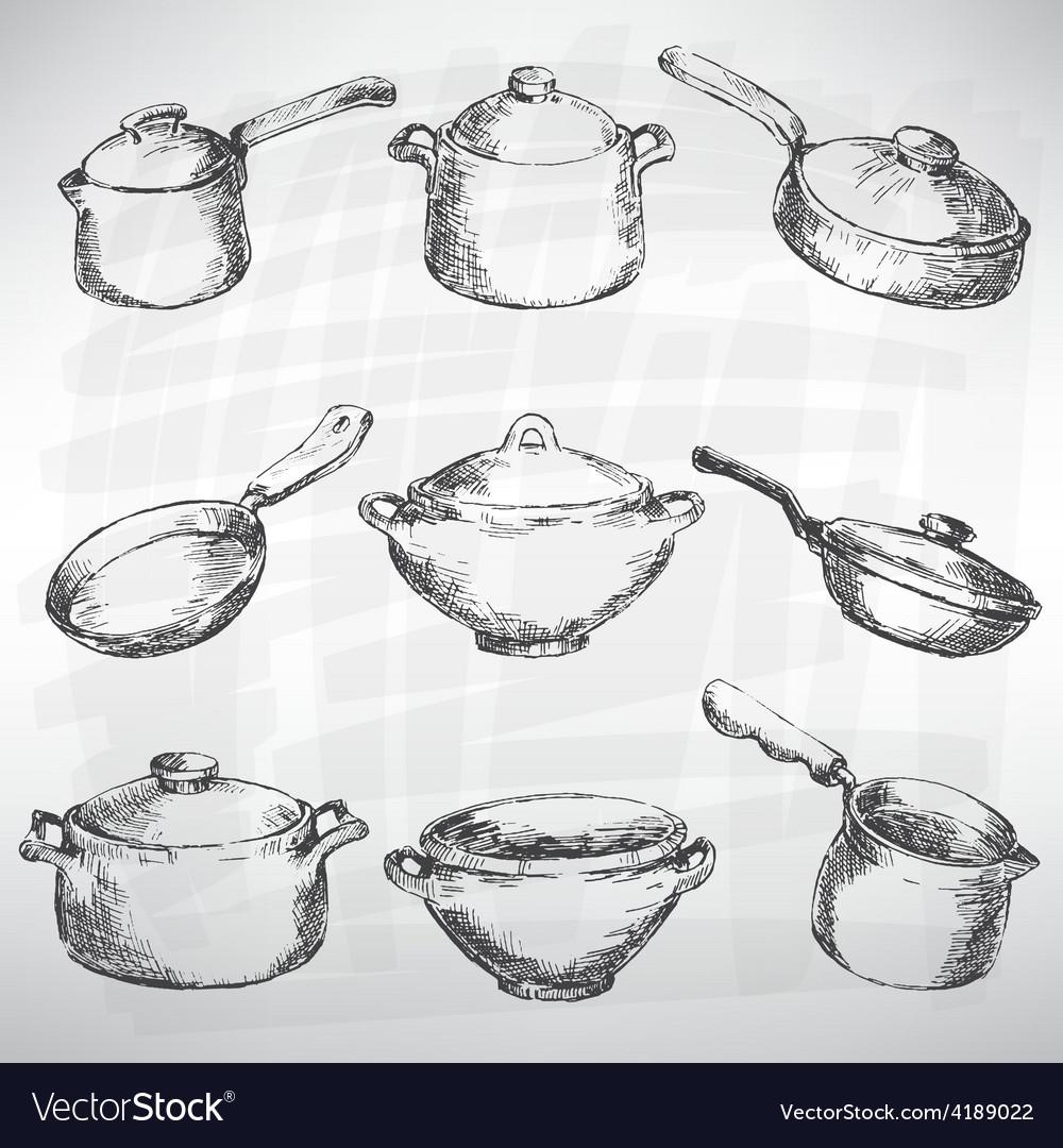 Cutlery set vector | Price: 1 Credit (USD $1)