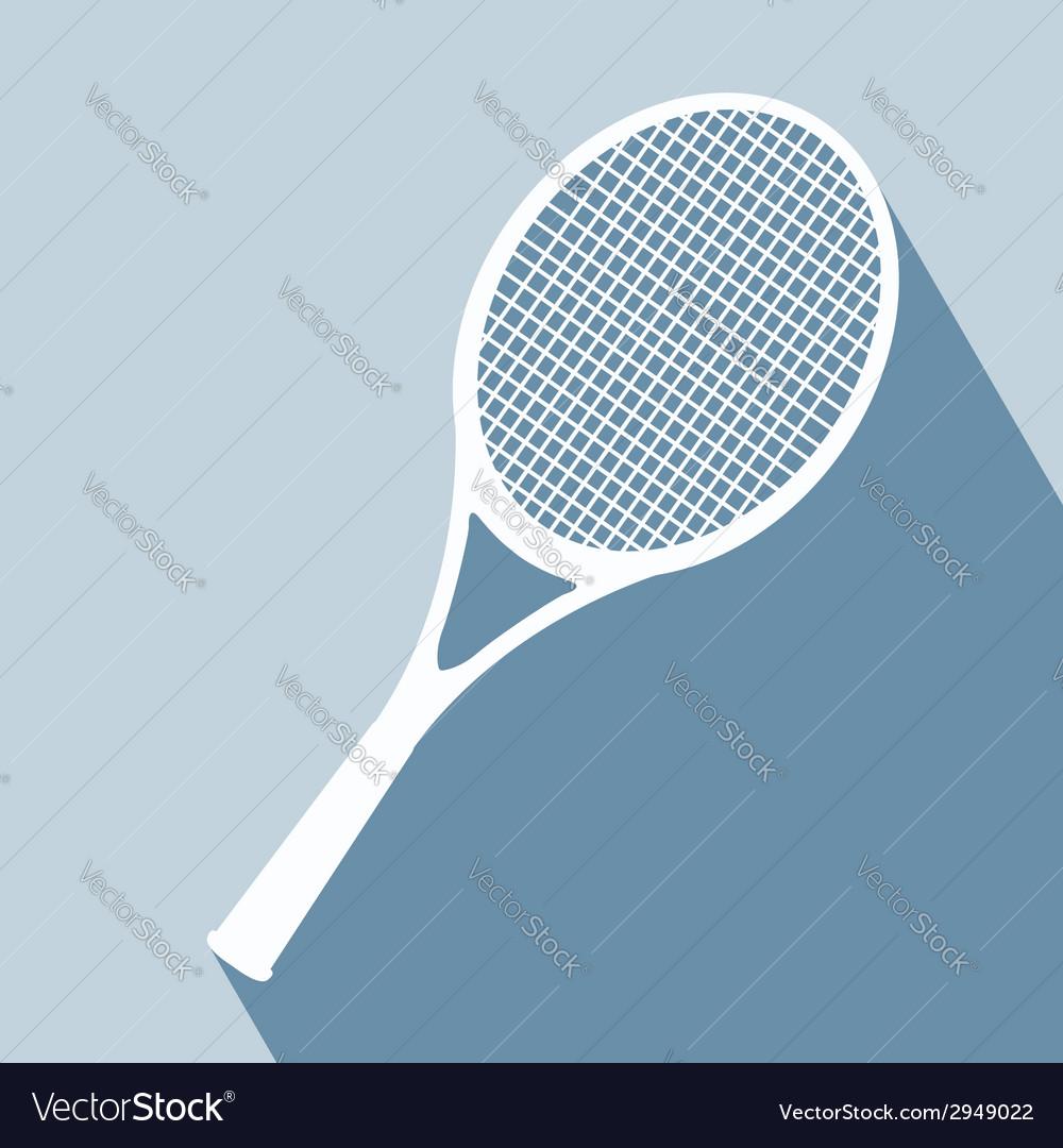 Racket icon vector | Price: 1 Credit (USD $1)