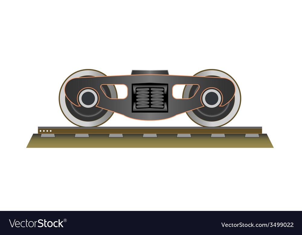 Wheels and bogie vector | Price: 1 Credit (USD $1)