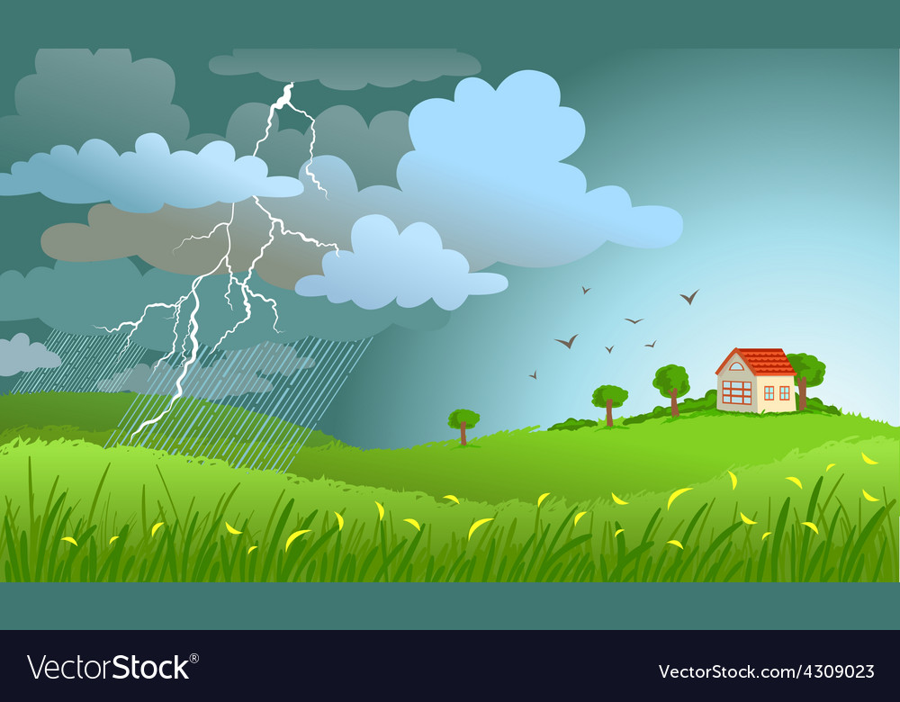Storm is coming vector | Price: 3 Credit (USD $3)