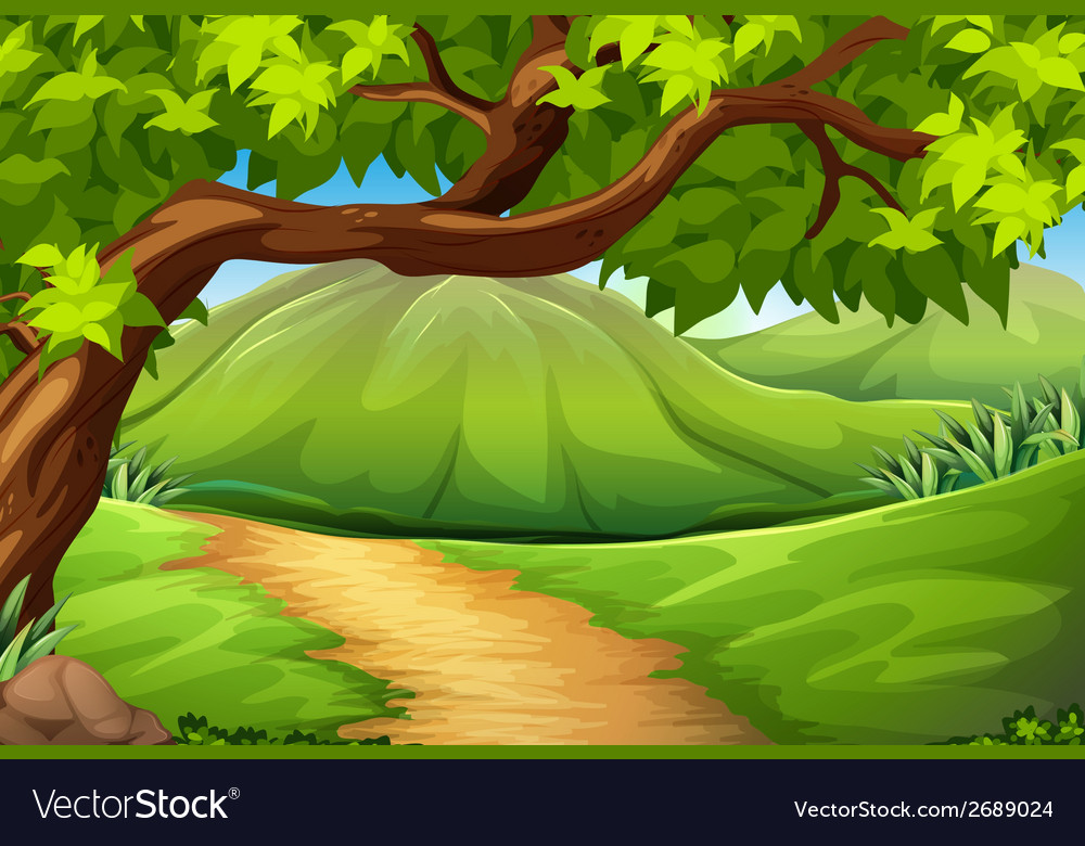 A green environment vector | Price: 1 Credit (USD $1)