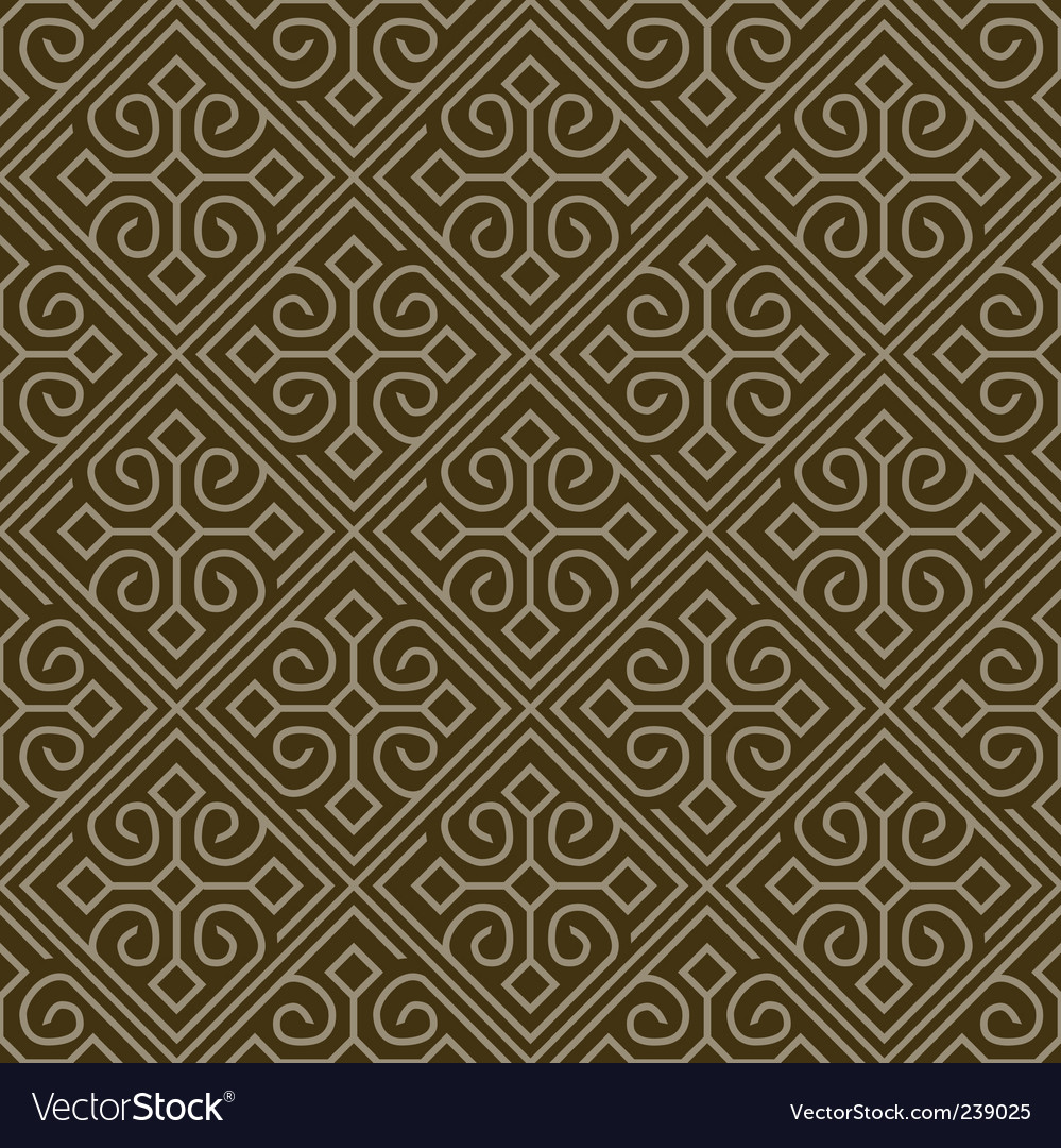 Corner tile pattern vector | Price: 1 Credit (USD $1)