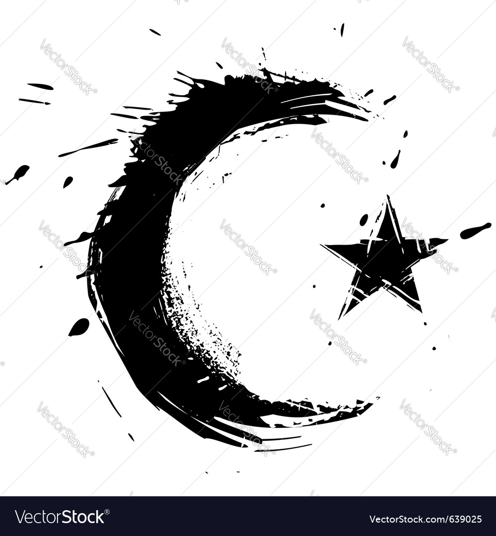 Islam symbol vector | Price: 1 Credit (USD $1)
