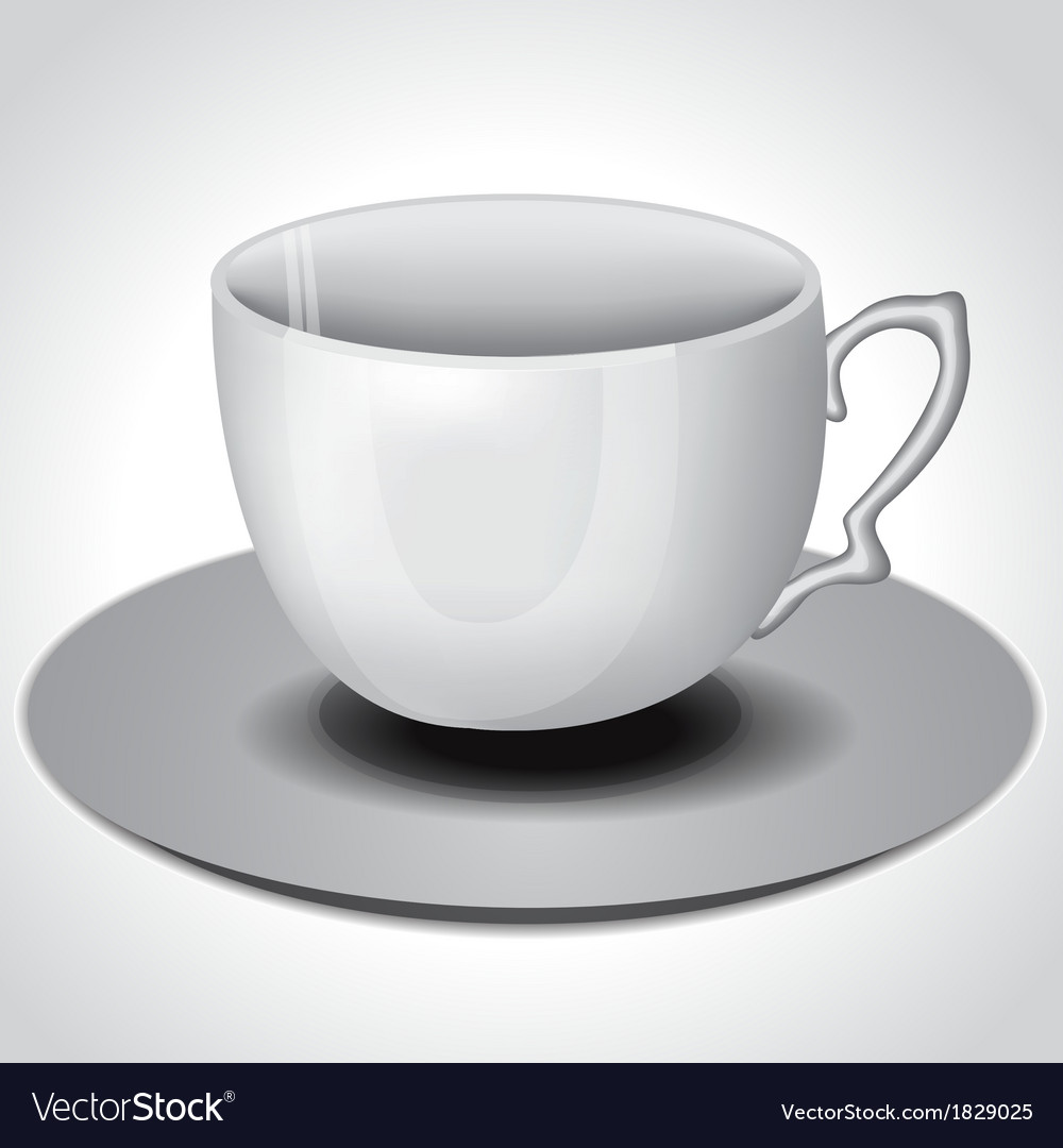 Tea coffee cup vector | Price: 1 Credit (USD $1)