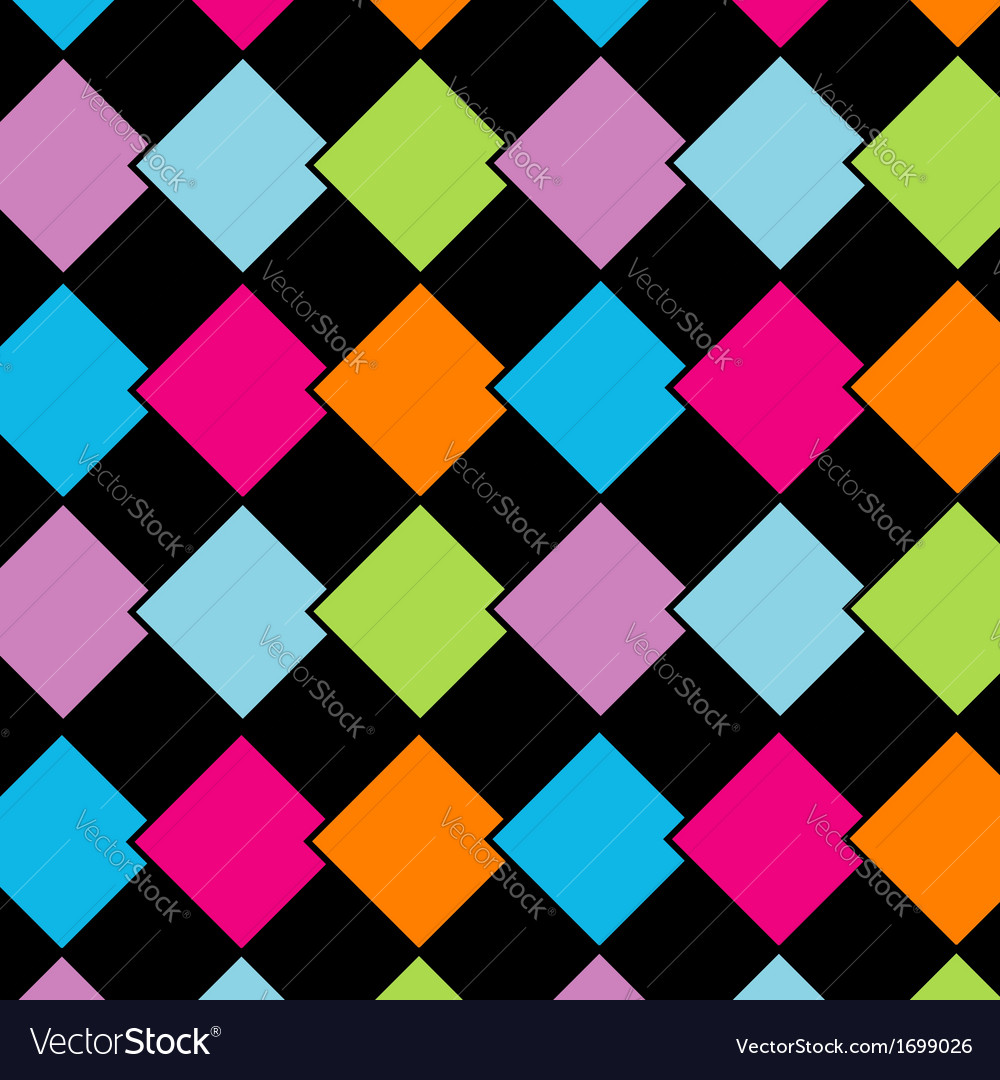 Colorful tile background vector | Price: 1 Credit (USD $1)