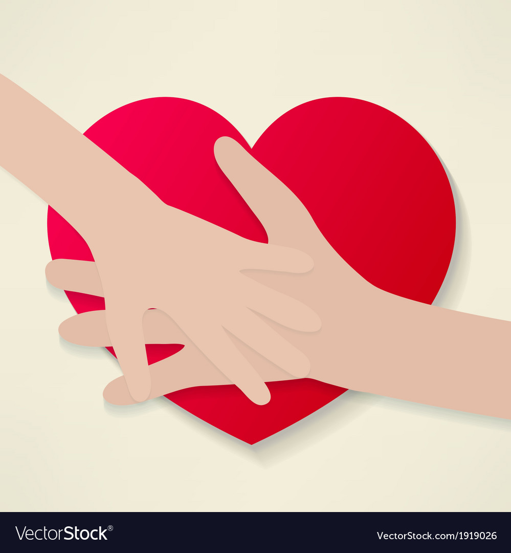 The human heart rescue people vector | Price: 1 Credit (USD $1)