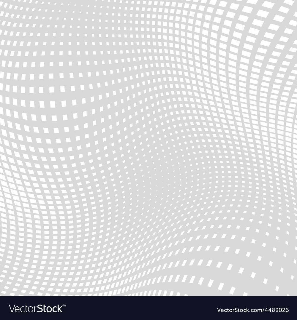 Light gray white distort halftone background vector | Price: 1 Credit (USD $1)