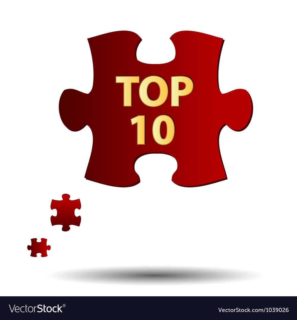Top ten symbol vector | Price: 1 Credit (USD $1)