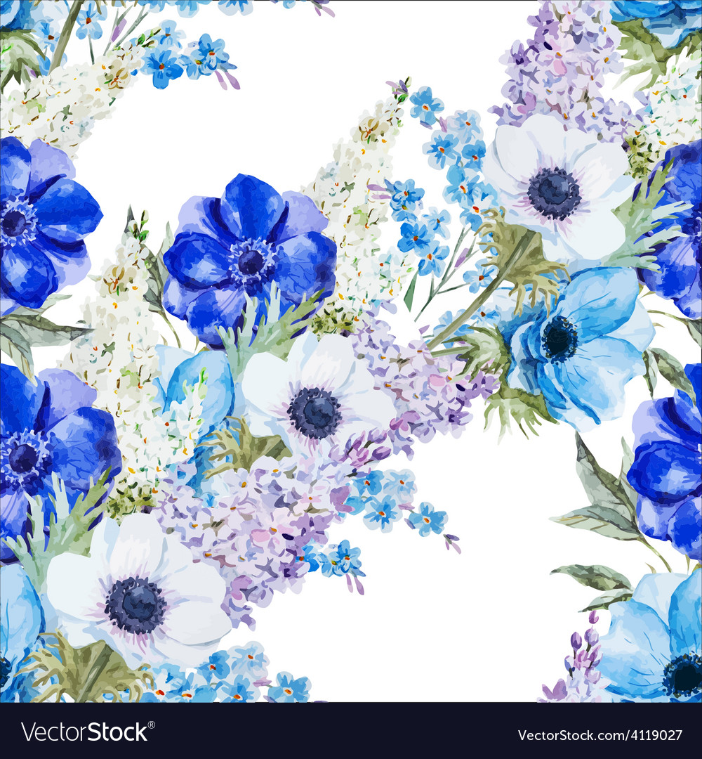Anemones vector | Price: 1 Credit (USD $1)