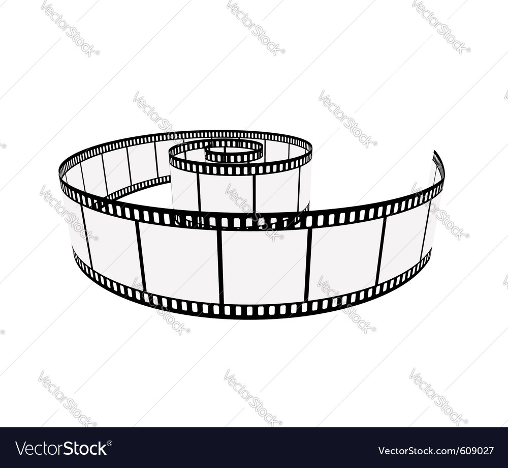 Isolated film vector | Price: 1 Credit (USD $1)