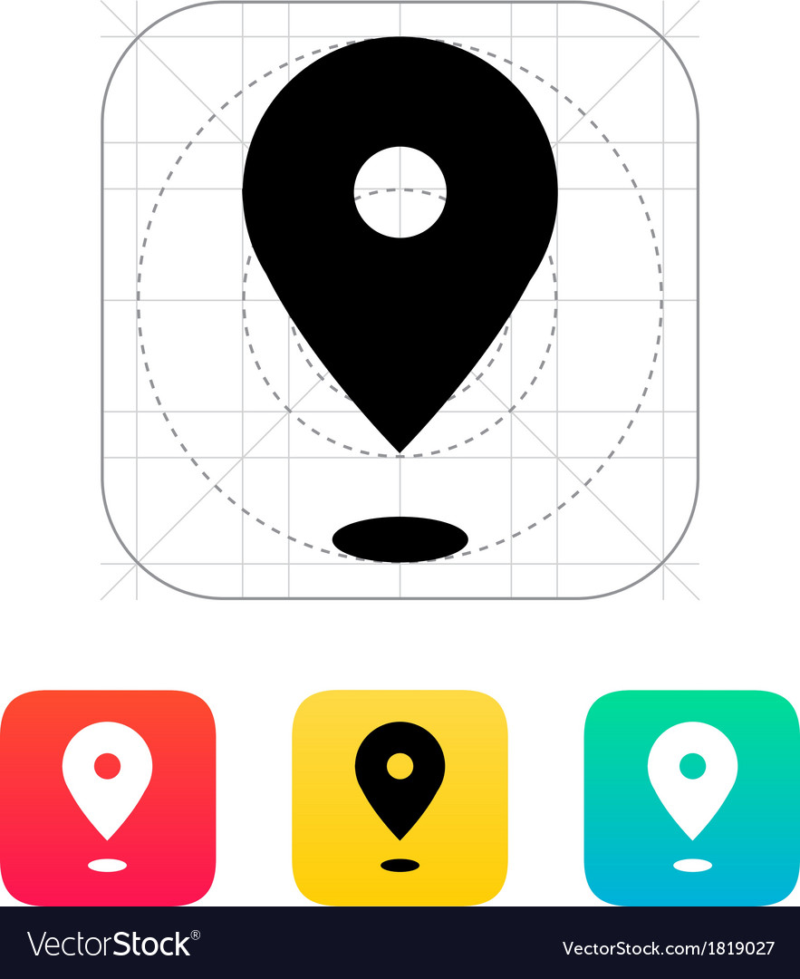 Point icon vector | Price: 1 Credit (USD $1)