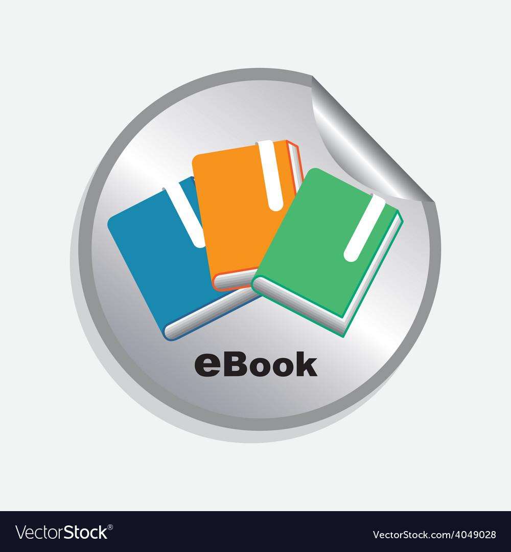 E-book concept vector   Price: 1 Credit (USD $1)
