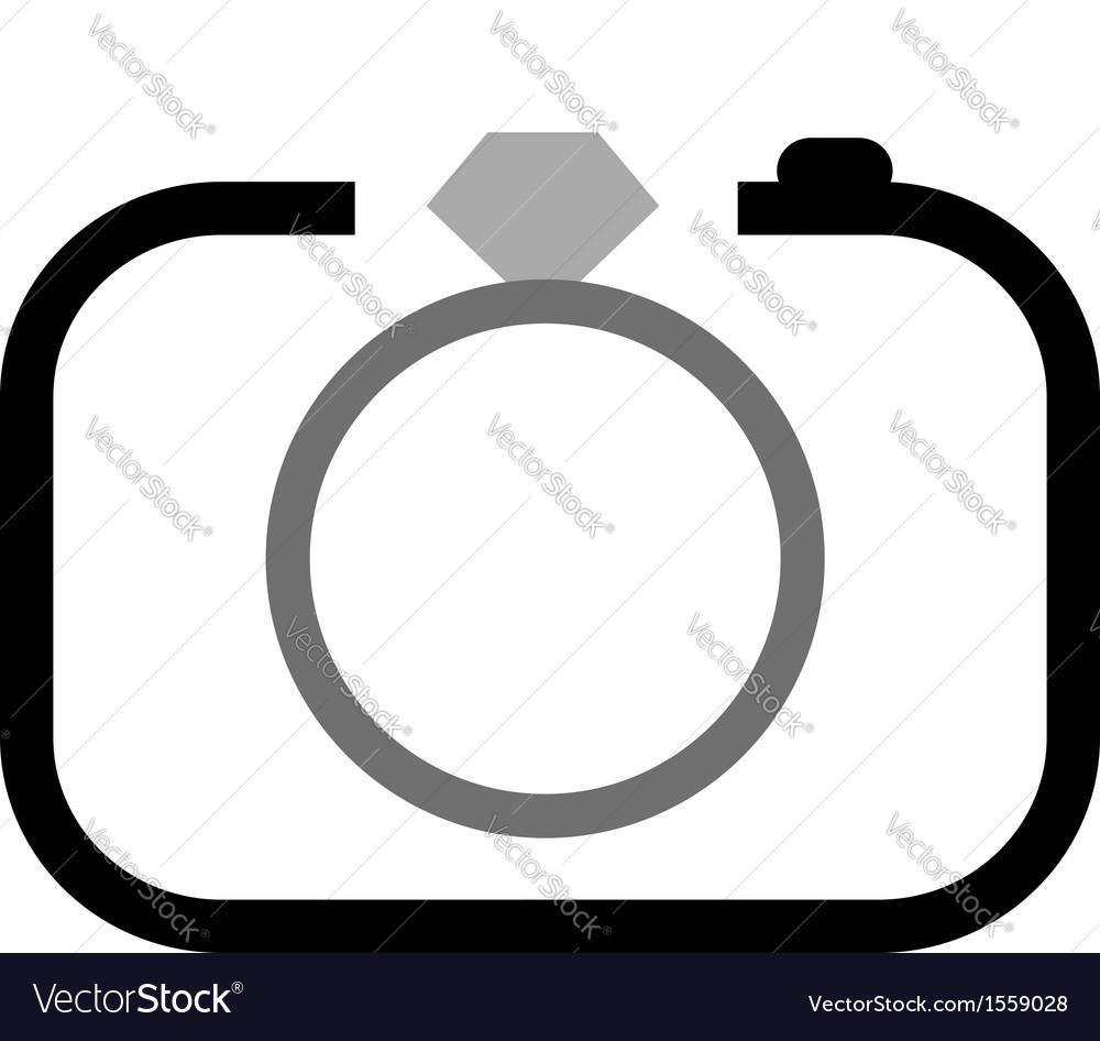 Wedding photography logo vector | Price: 1 Credit (USD $1)