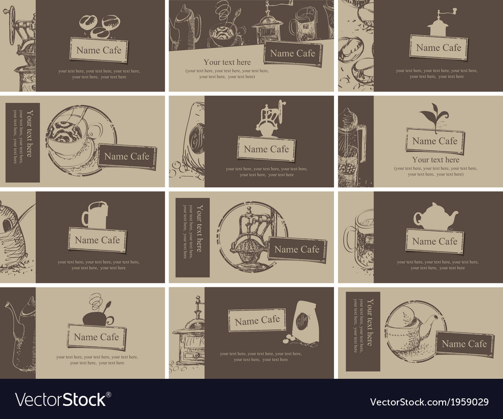 Tea and coffee vector | Price: 1 Credit (USD $1)