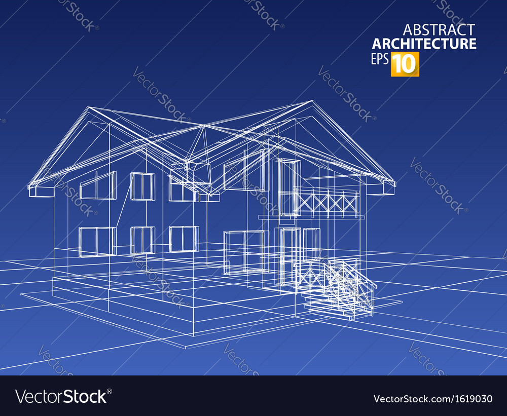 3d home vector | Price: 1 Credit (USD $1)