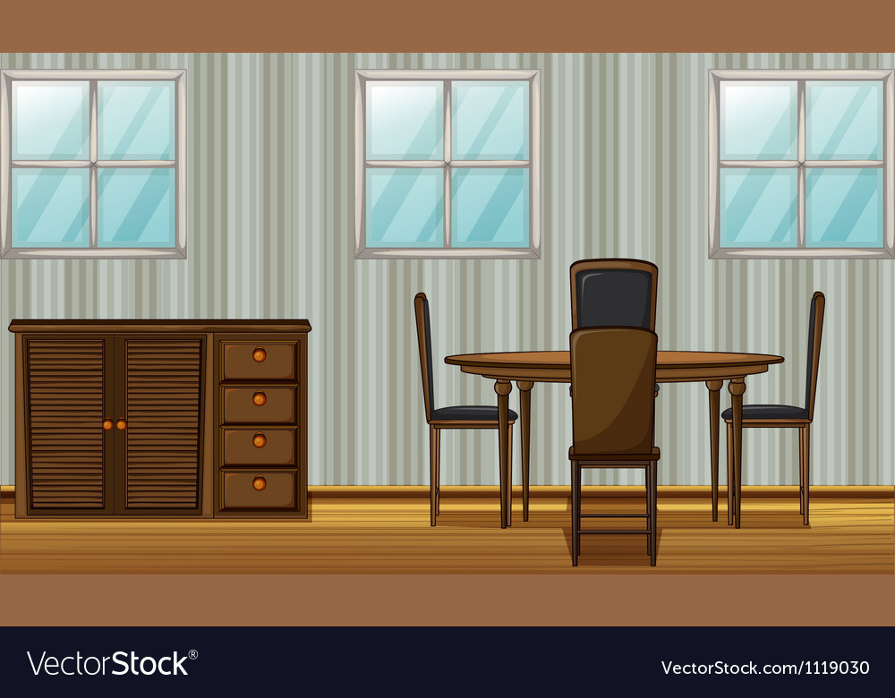 Dining room vector | Price: 1 Credit (USD $1)