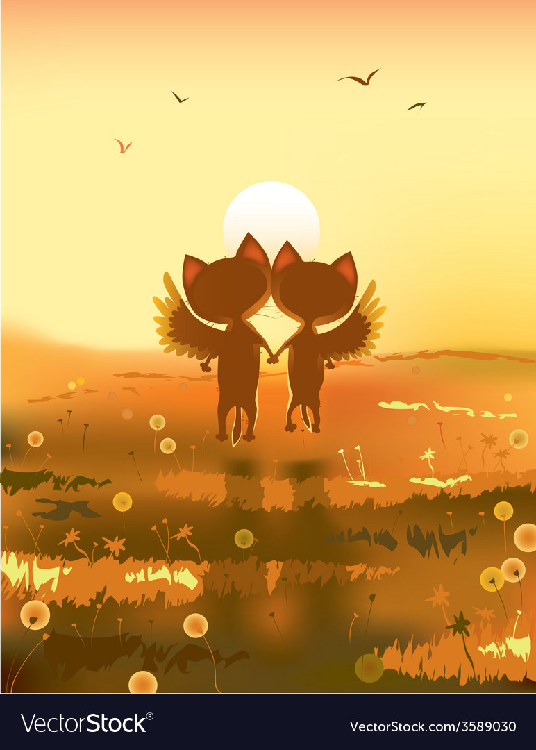 Wings for couple vector | Price: 5 Credit (USD $5)