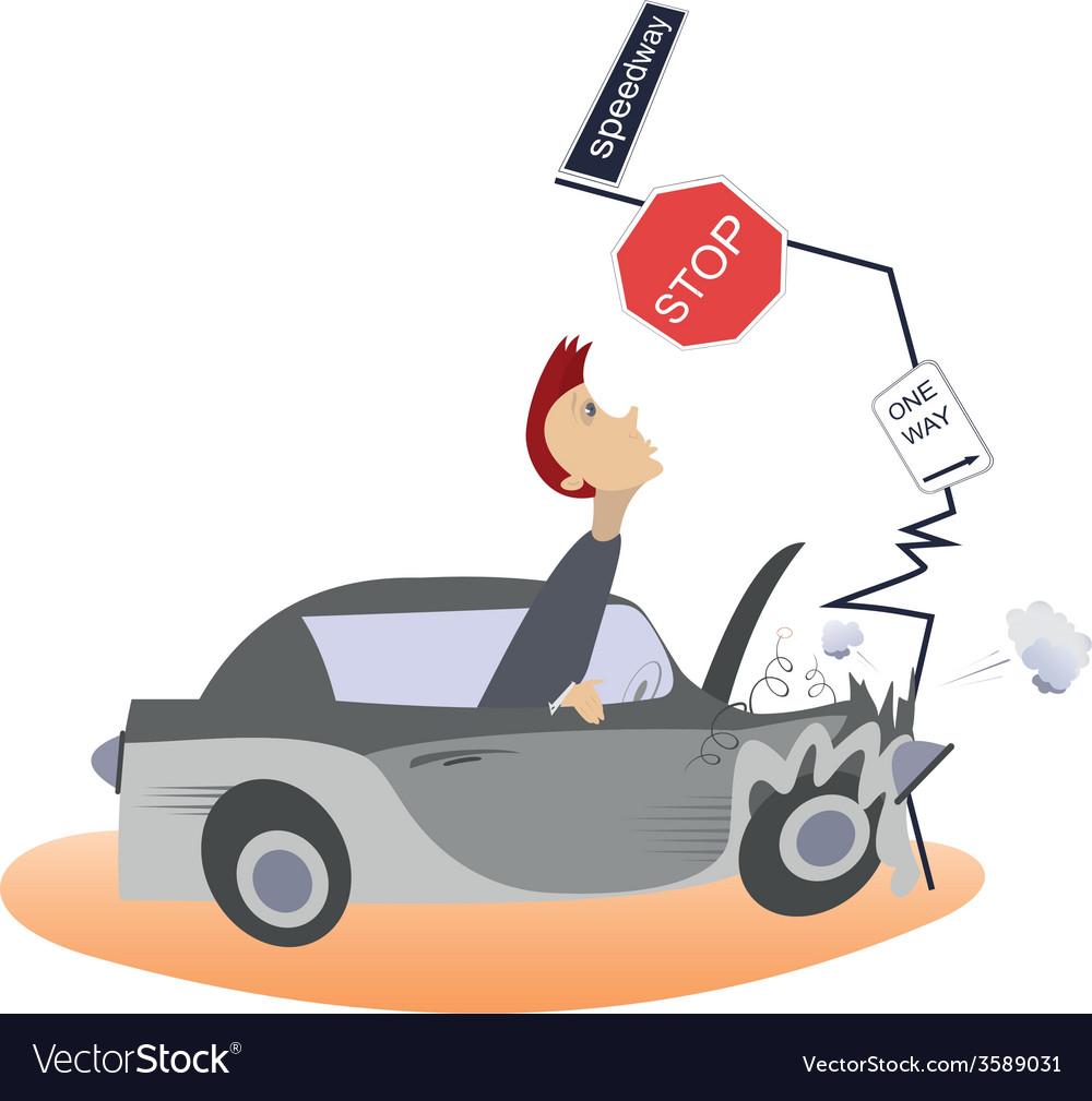 Accident vector | Price: 1 Credit (USD $1)
