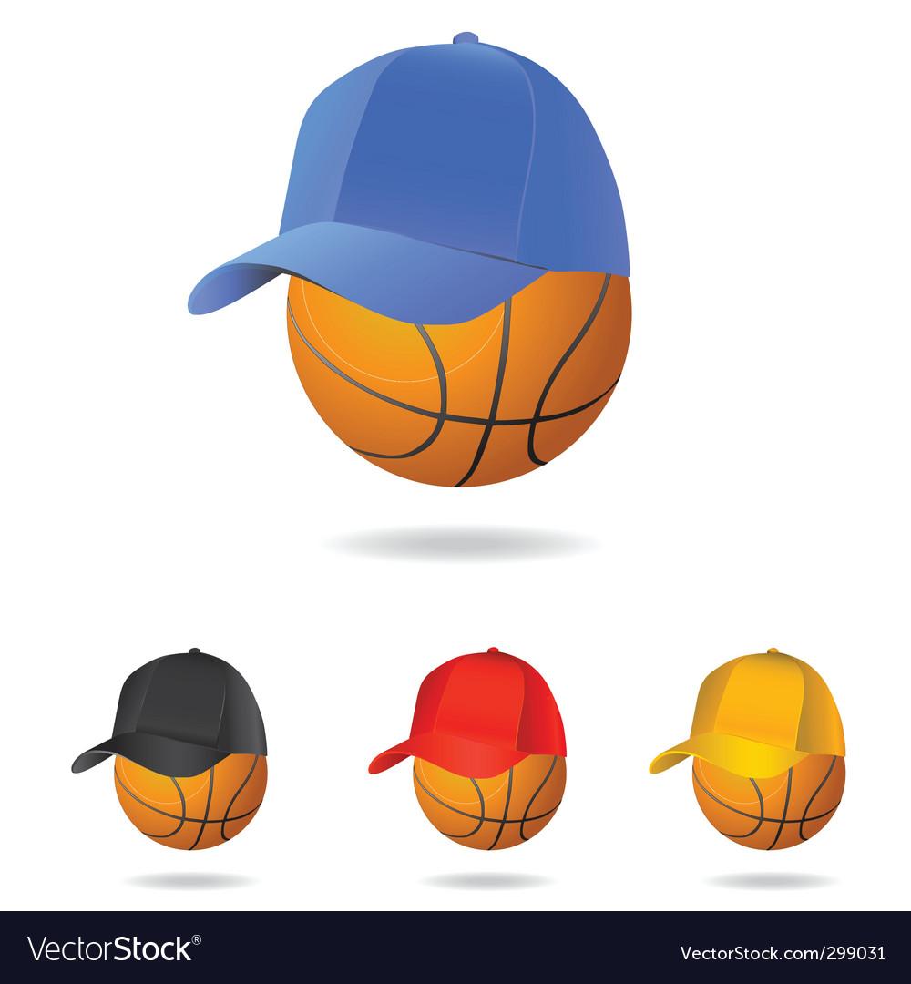 Basketball mascot vector | Price: 1 Credit (USD $1)