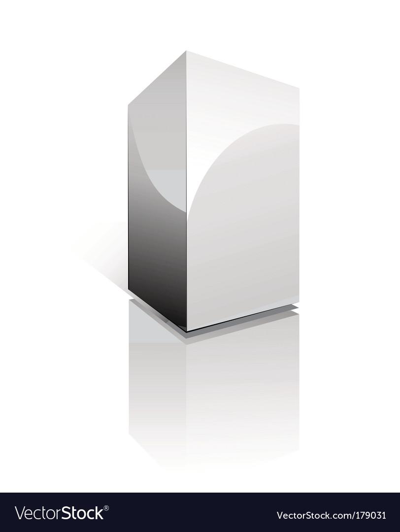 Three dimensional box vector | Price: 3 Credit (USD $3)