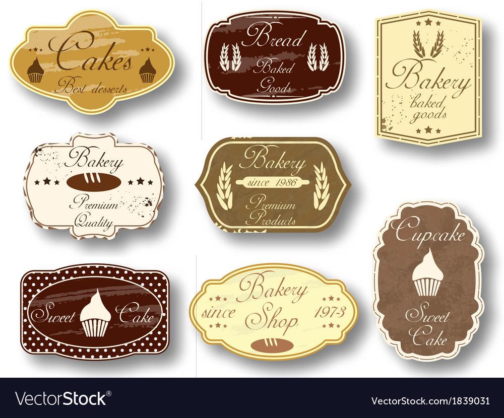 Vintage labels vector   Price: 1 Credit (USD $1)