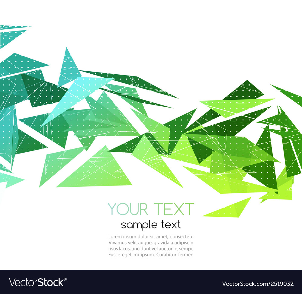Abstract geometric background with triangle vector | Price: 1 Credit (USD $1)