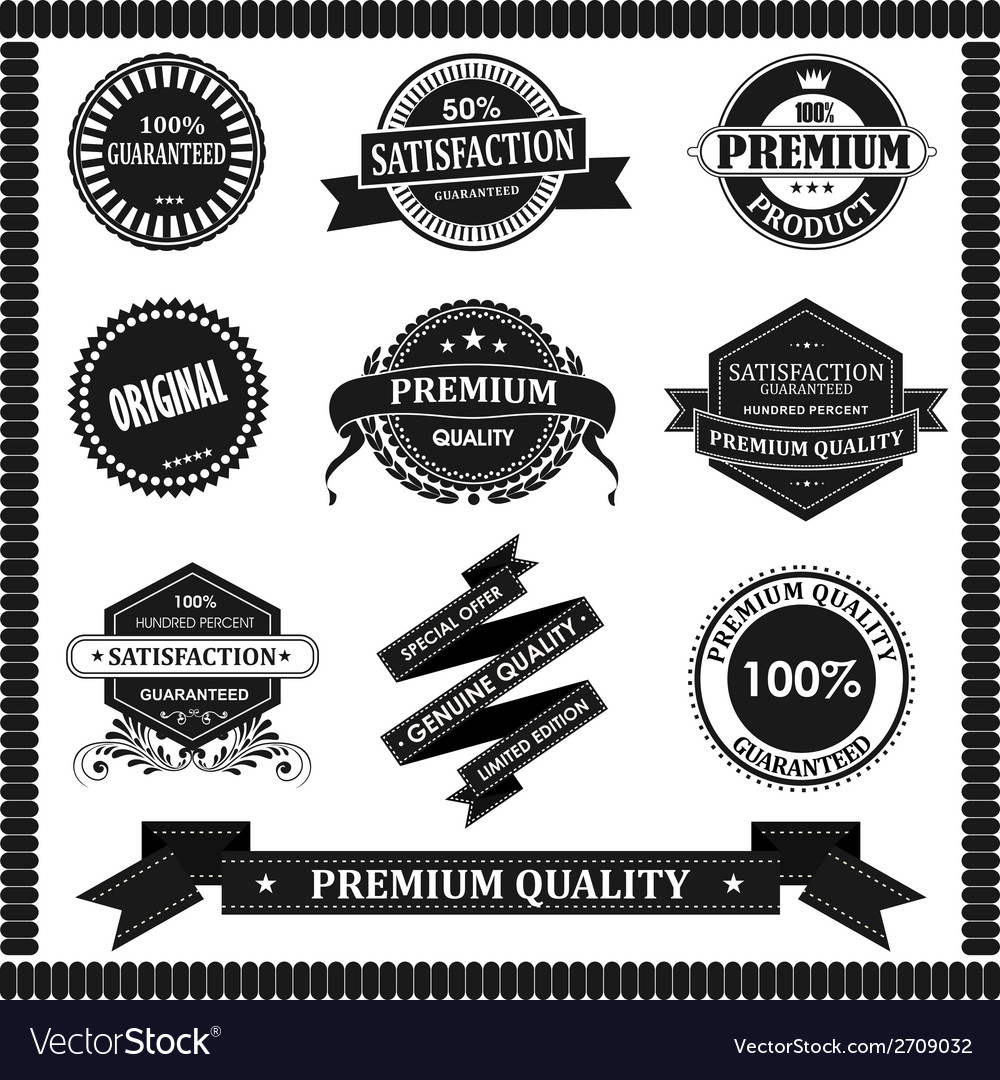 Original label with black vector | Price: 1 Credit (USD $1)