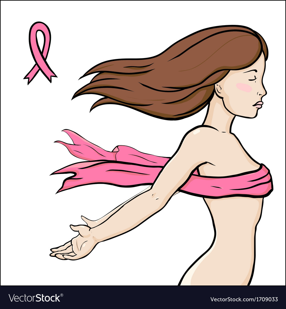 Concept image of health breast cancer awareness vector | Price: 1 Credit (USD $1)