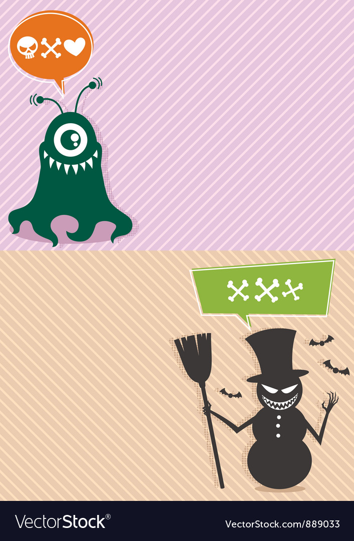Monster backgrounds vector   Price: 1 Credit (USD $1)