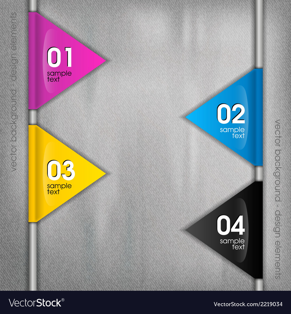 Cmyk triangles vector | Price: 1 Credit (USD $1)